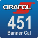 Oracal 451 Bannerfolie