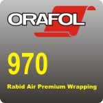 Oracal 970 Rabid Air Wrapping